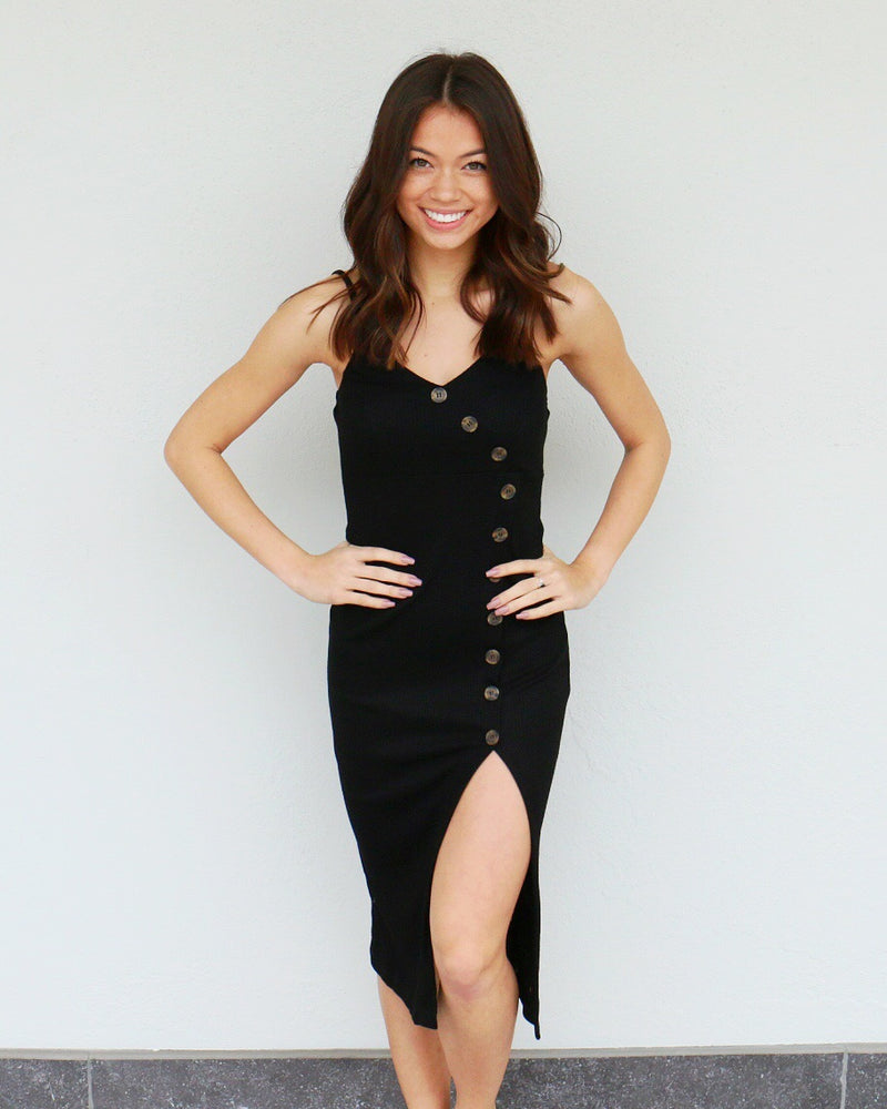 Nissa Dress in Black