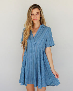 Seascape Dress