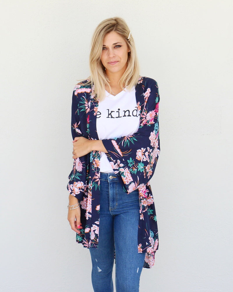 All Things Kimono in Navy