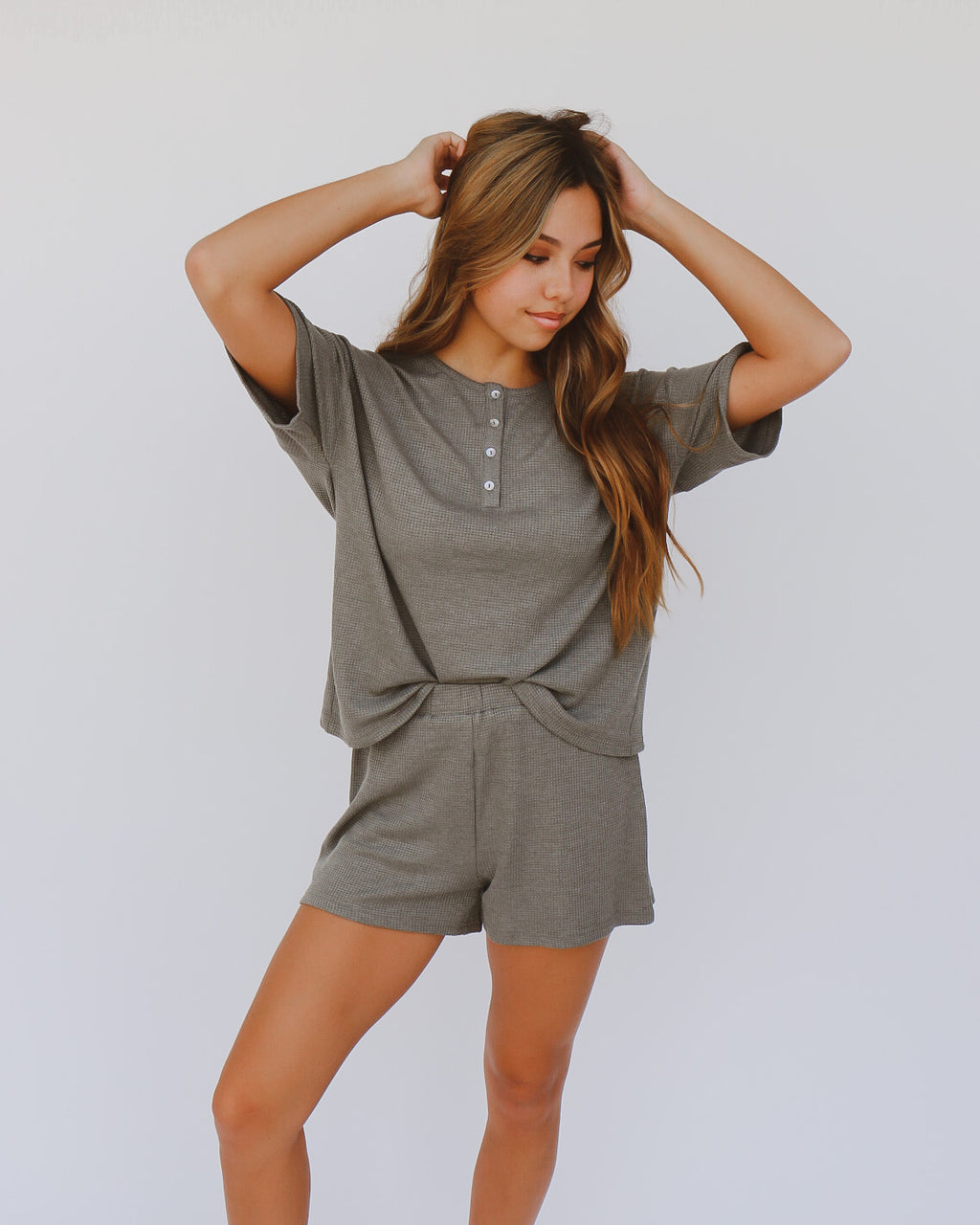 Maylee Top in Olive