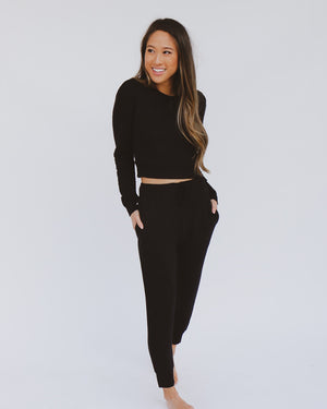 Parker Joggers in Black
