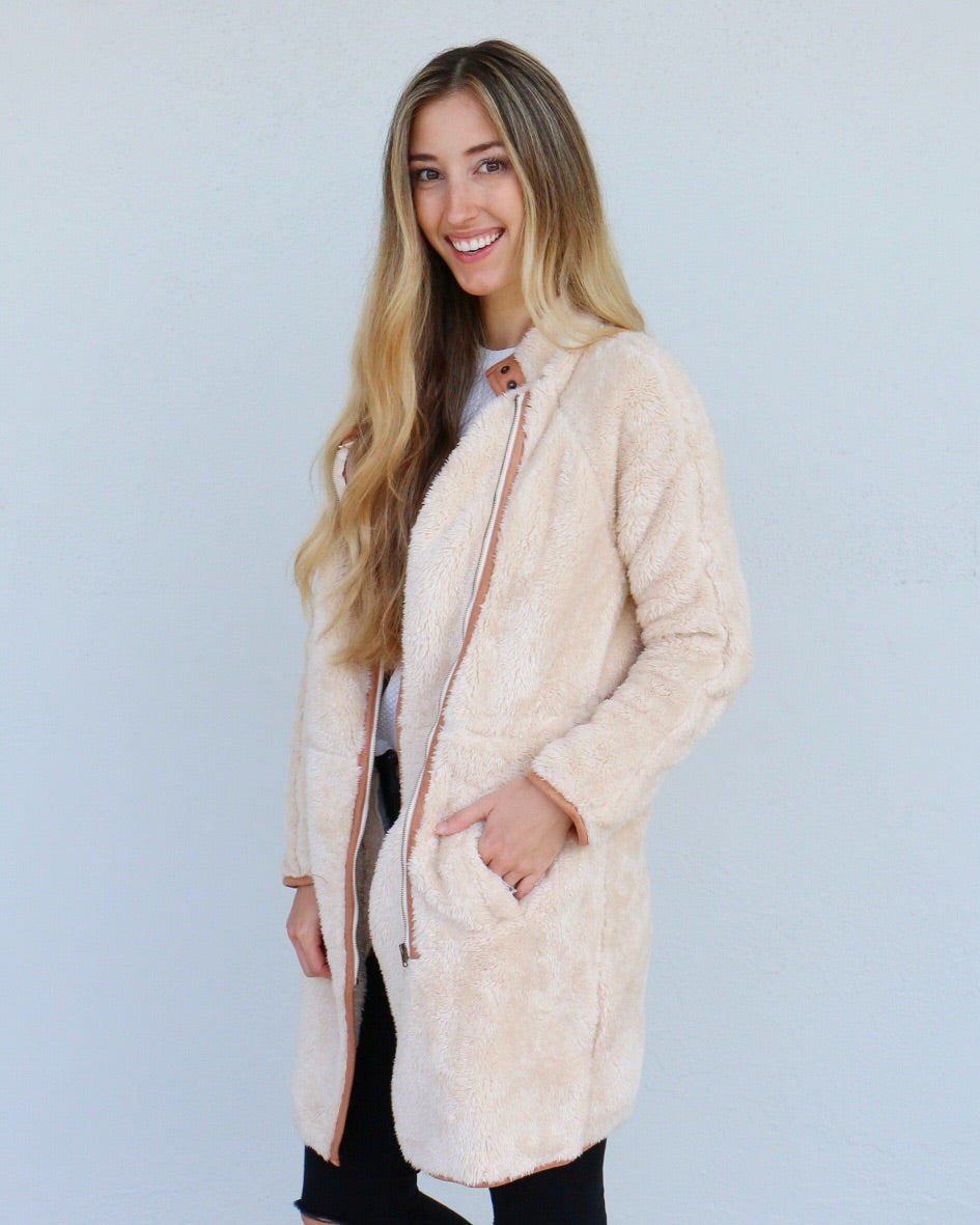 Raquel Jacket in Sand