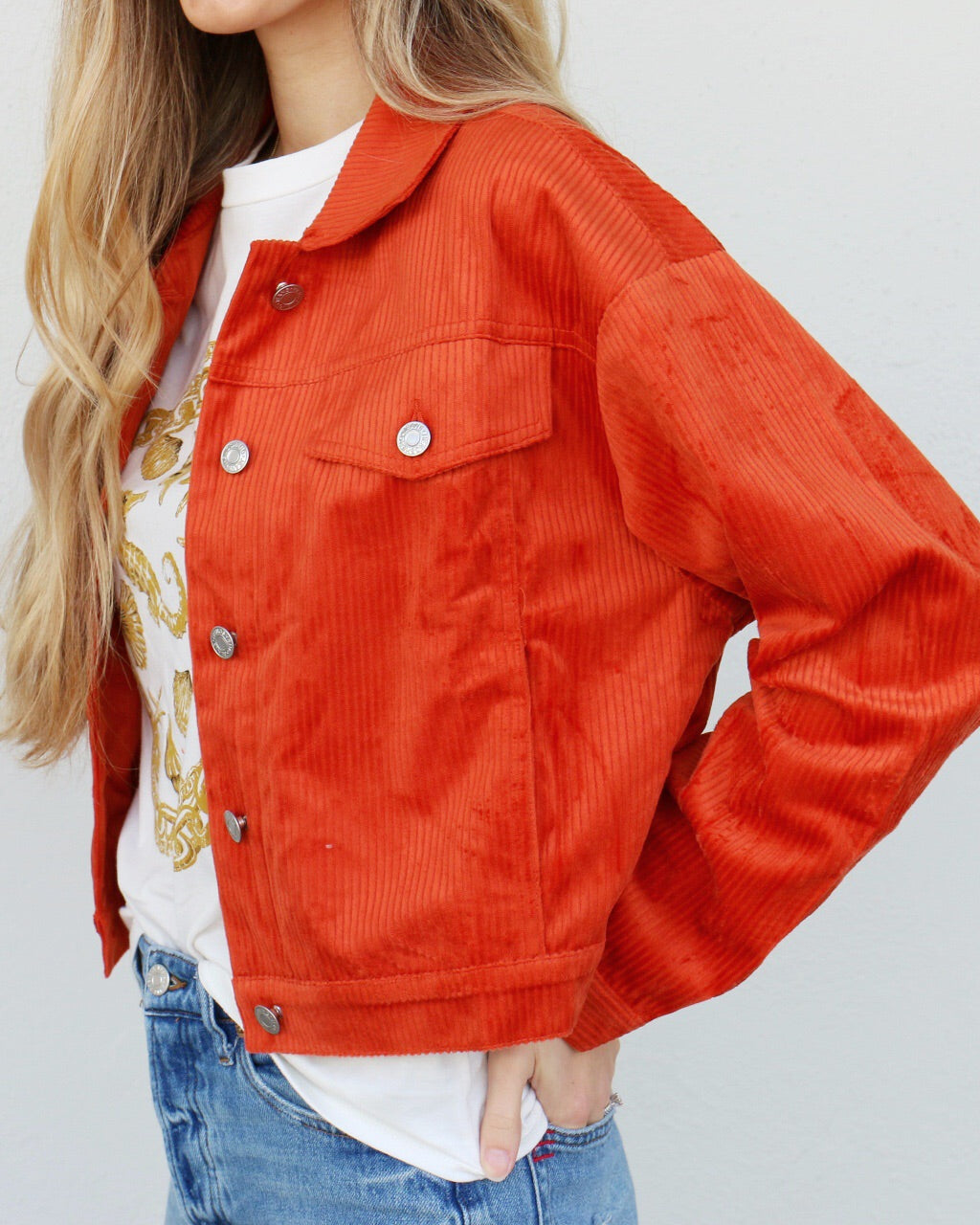 Starstruck Jacket in Rust