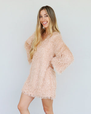 Gatsby Dress in Blush