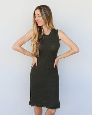 Lana Dress in Olive