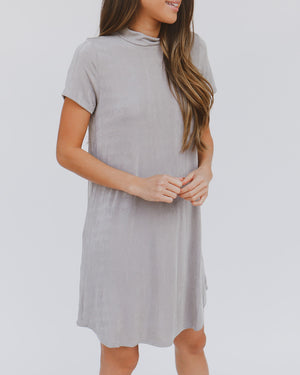 Walk With Me Dress in Silver