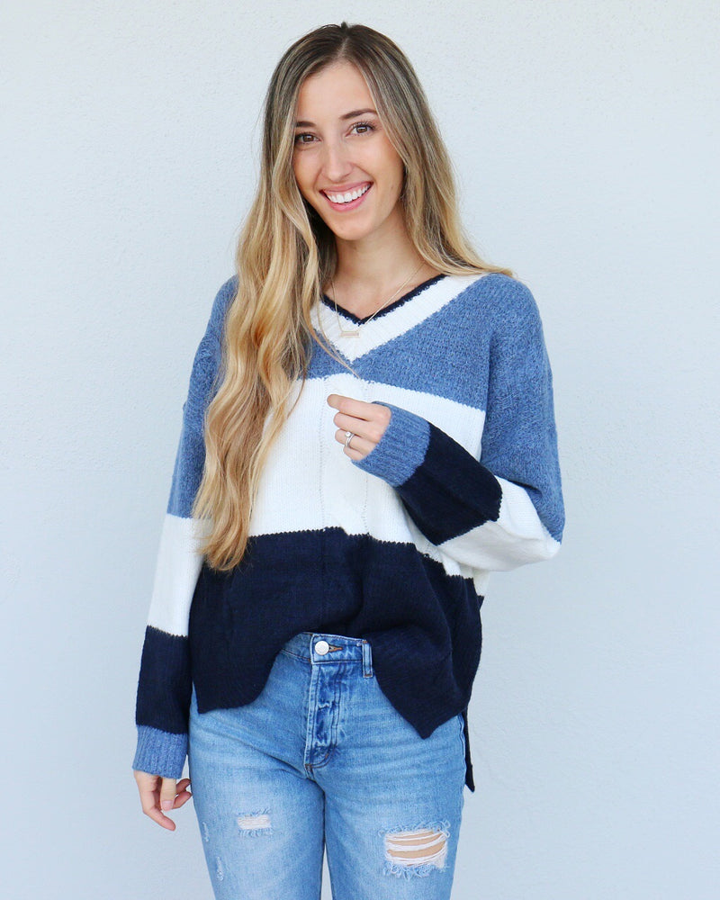 Neapolitan Sweater in Blue