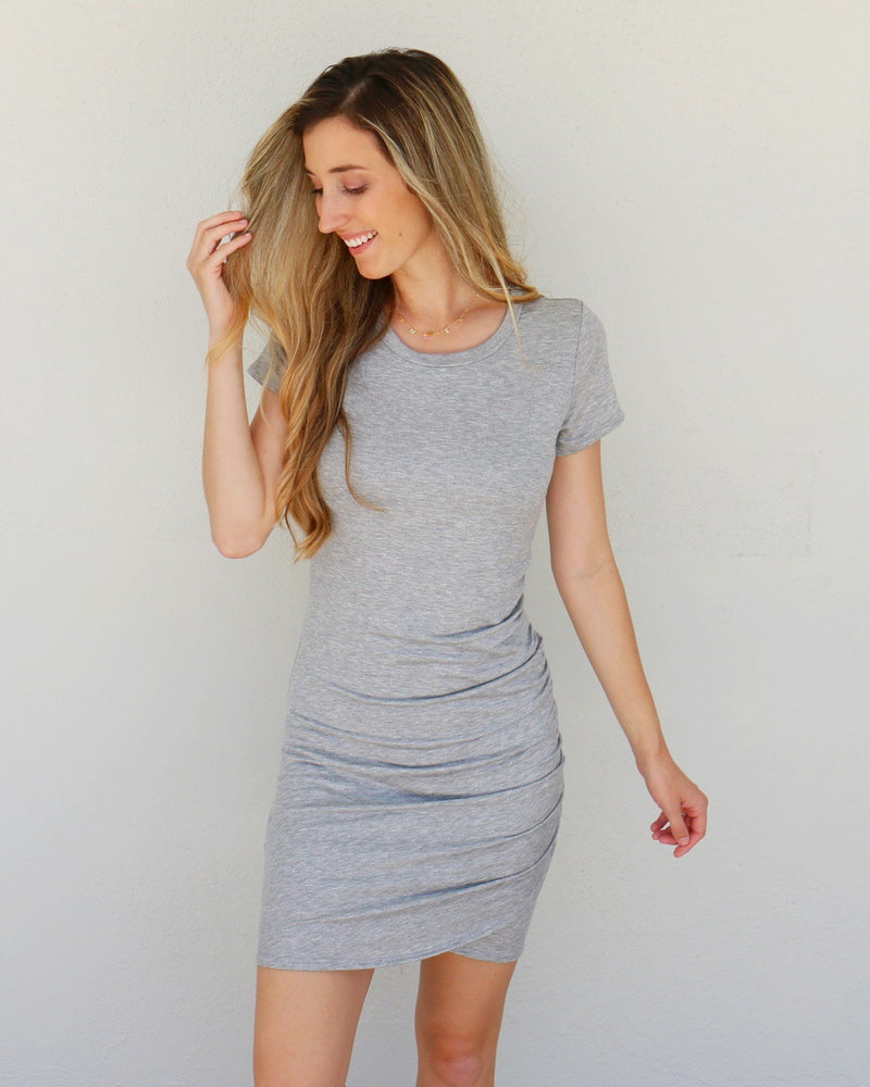 Nelly Dress in Gray