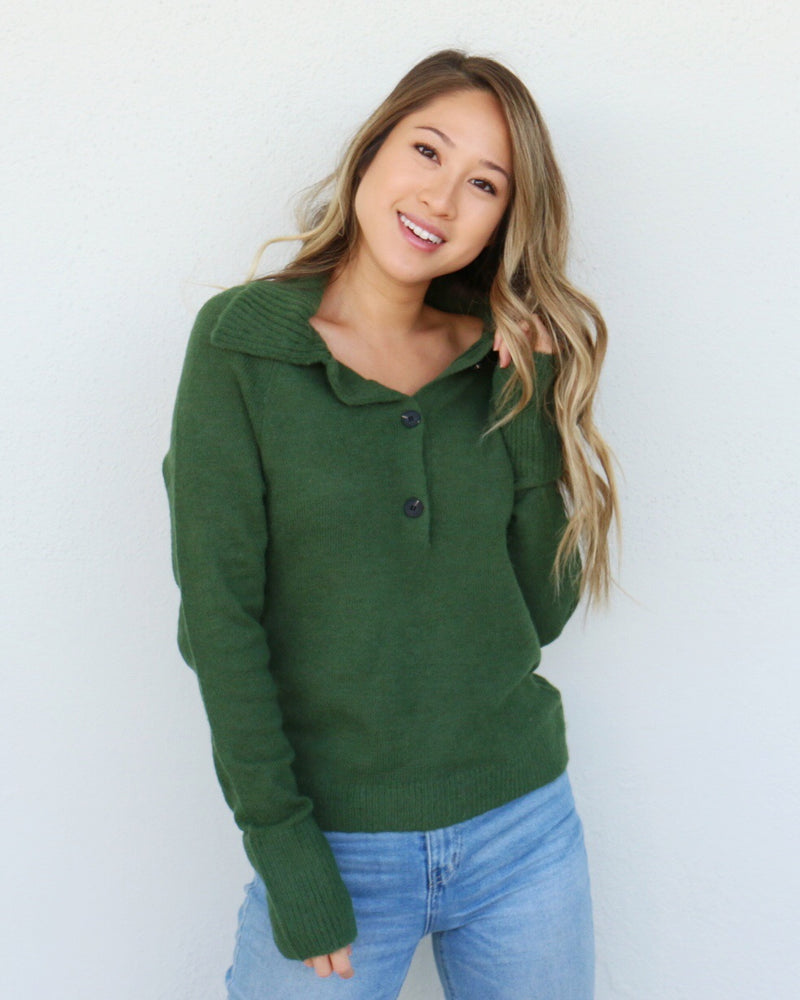Autumn Top in Green