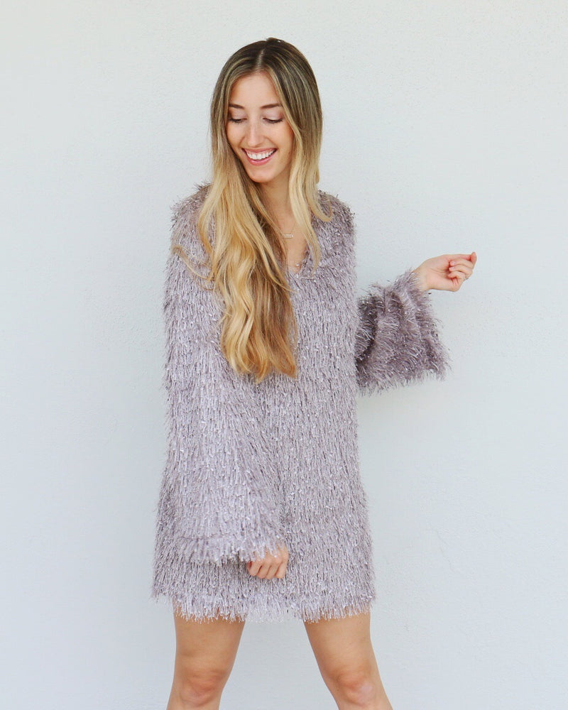 Gatsby Dress in Gray