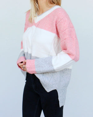 Neapolitan Sweater in Pink