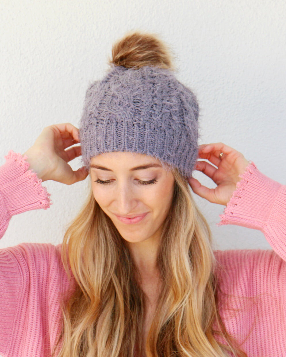 Shadow Beanie in Gray
