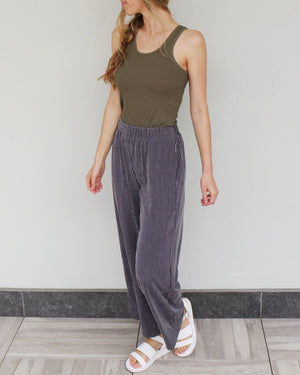 Tate Pants in Charcoal