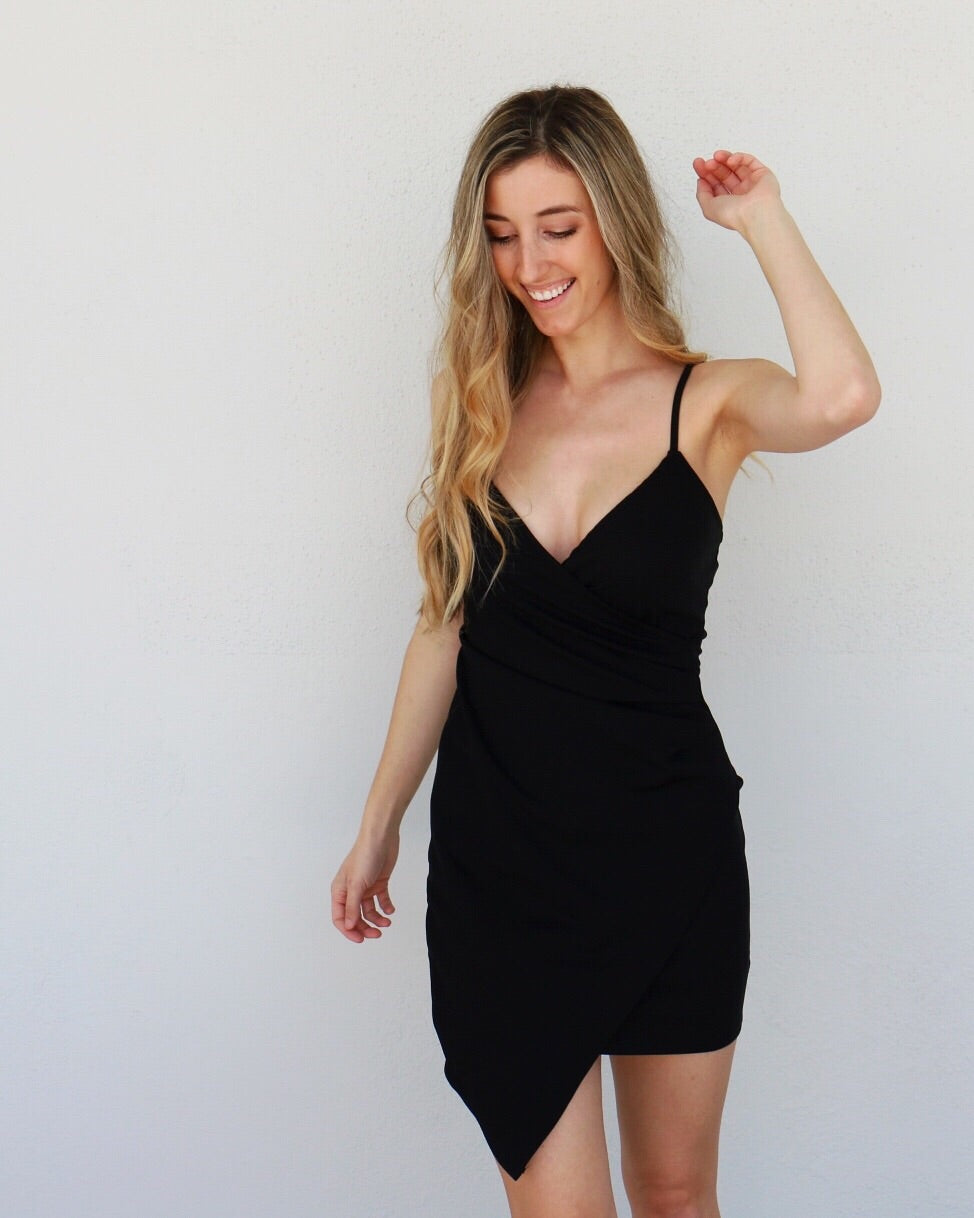 Brynn Dress in Black