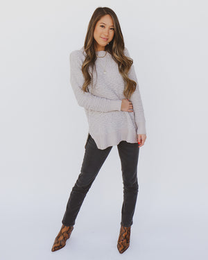 Lacey Sweater in Gray