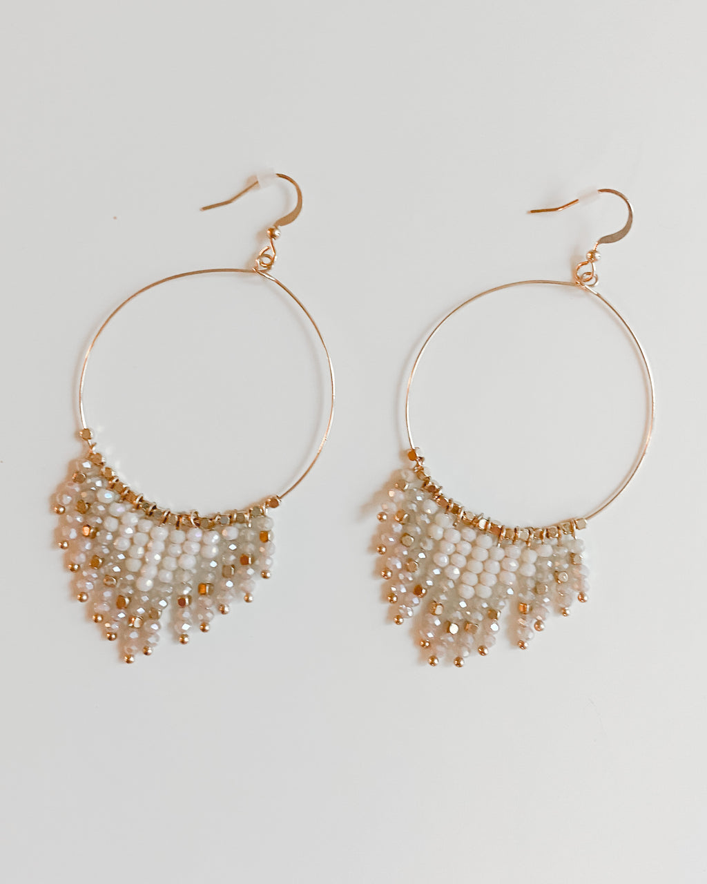 Florence Earrings in Ivory