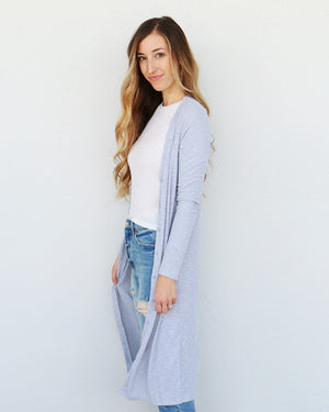 Georgia Cardigan in Gray