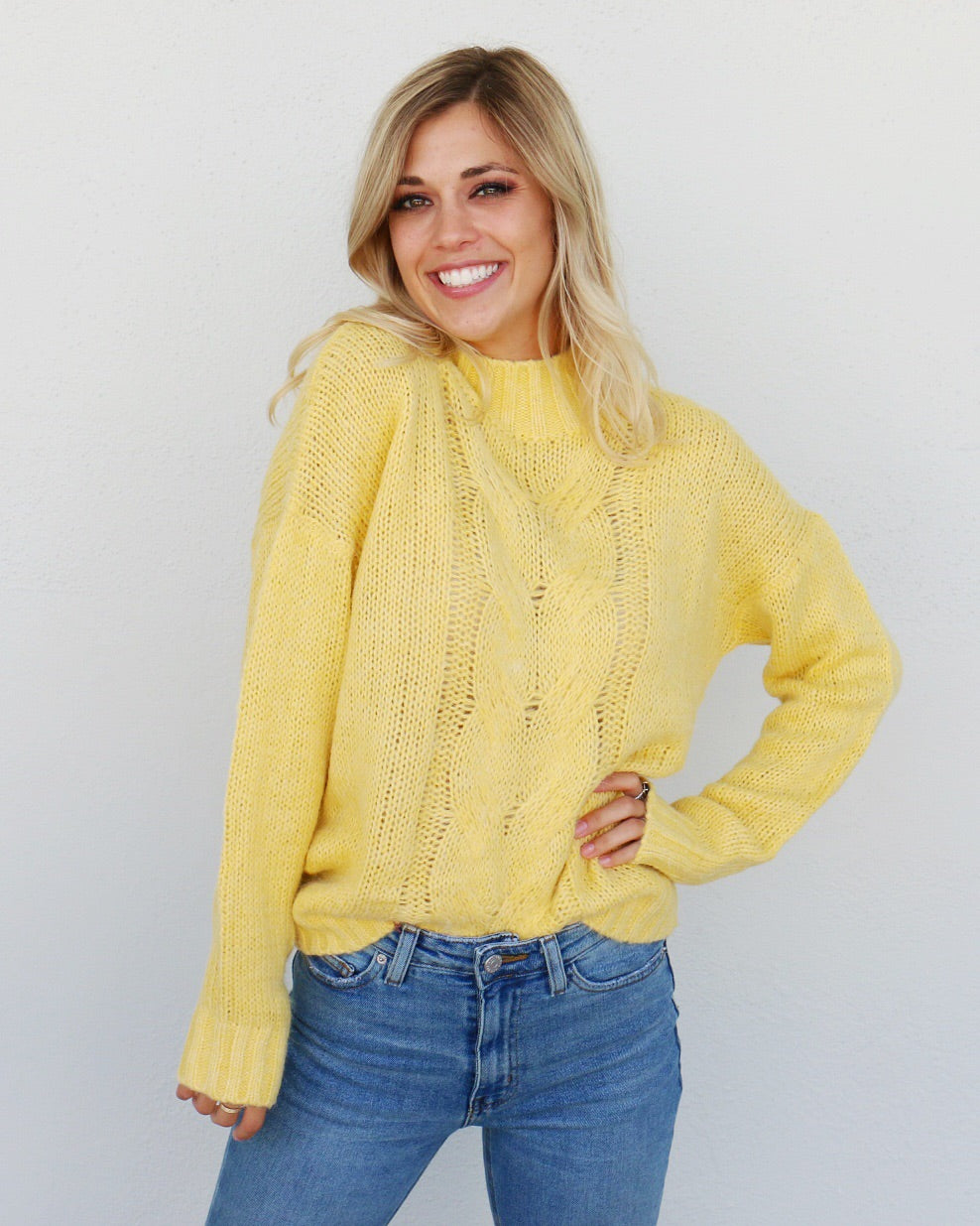 Sunny Day Sweater