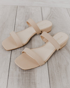 Julep Sandals in Nude