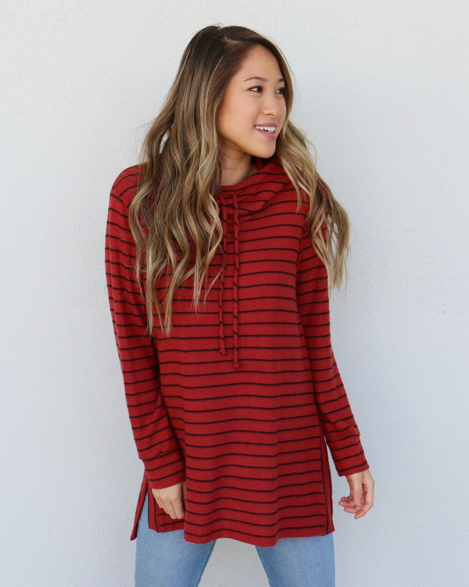 Palmer Top in Red
