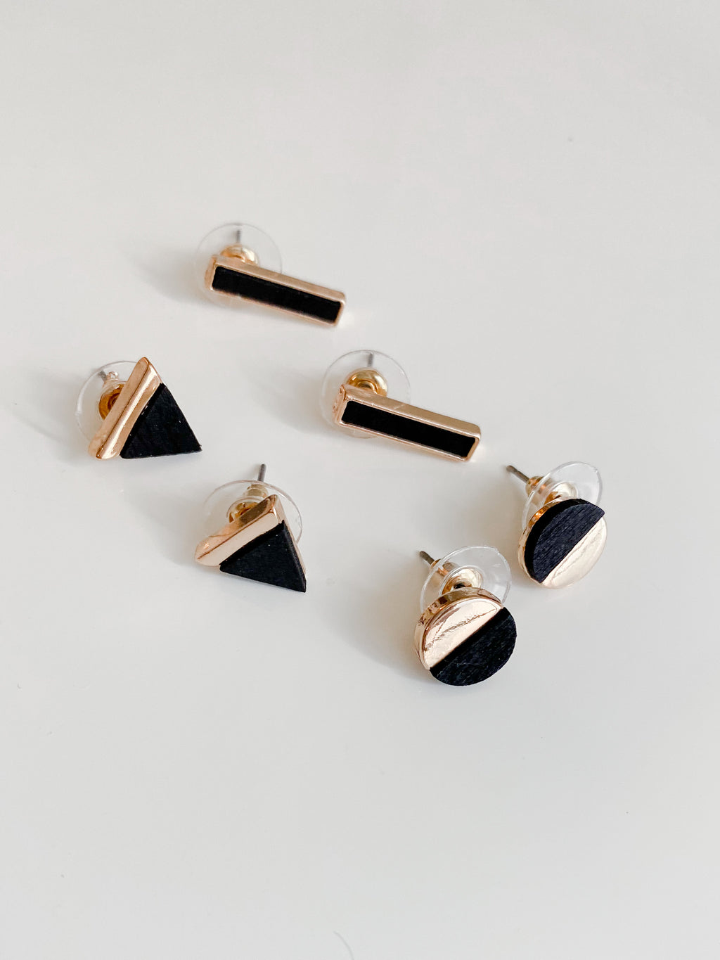 Geo Earrings Set