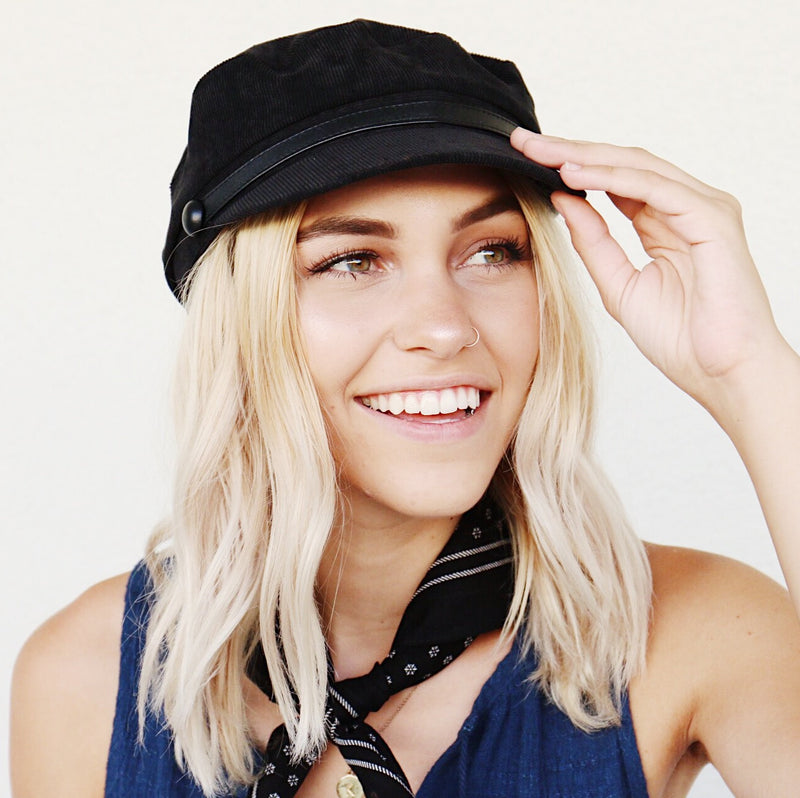 Everleigh Hat In Black