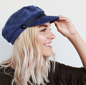 Everleigh Hat In Navy