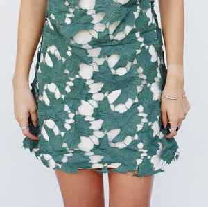 Ida Dress in Green