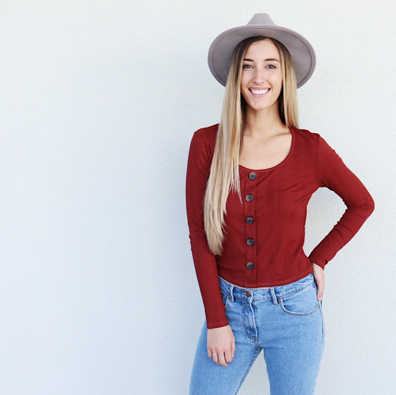 Rosie Top in Rust