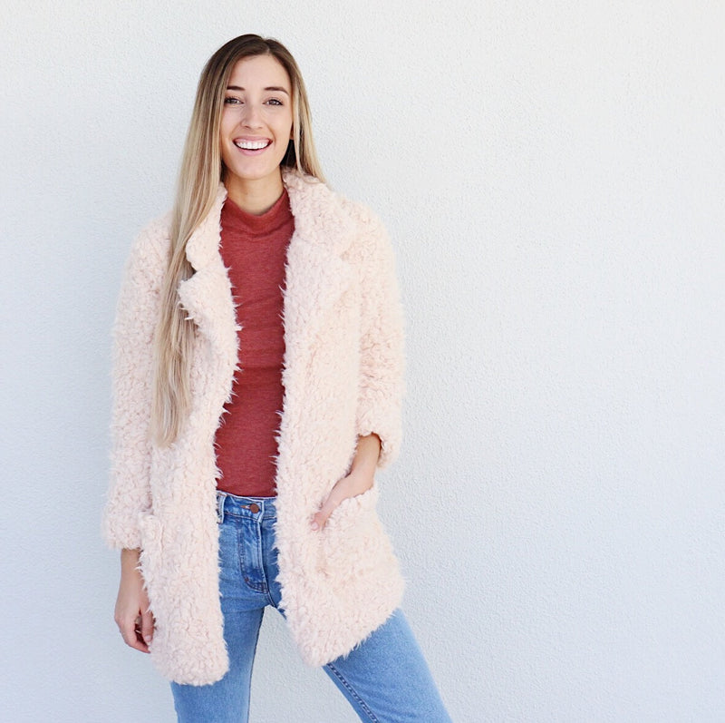 Willa Jacket in Blush