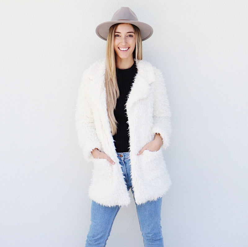 Willa Jacket in White