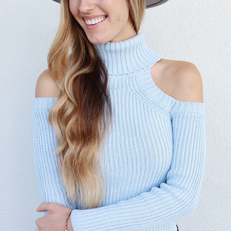 Stacey Sweater in Blue
