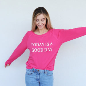 Today Pullover in Pink