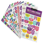 Essentials Planner Stickers - Bible (Set of 450 Stickers)