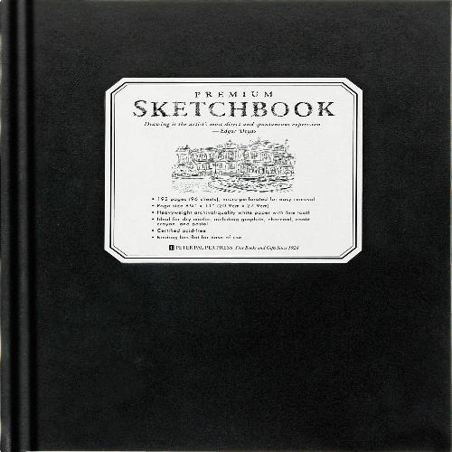 Premium Black Sketchbook - Large