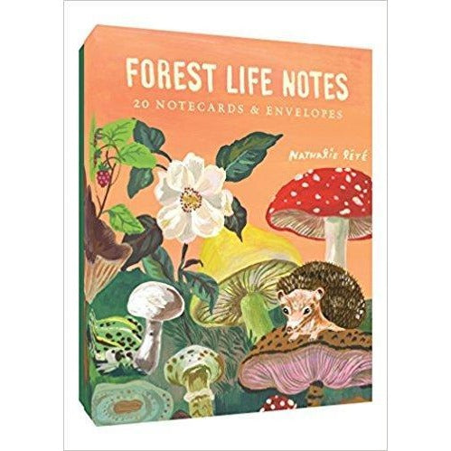 Forest Life Notes: 20 Notecards & Envelopes