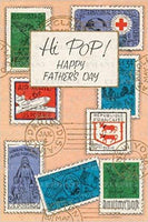 Father's Day Stamps - Greeting Card