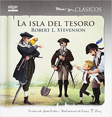 La isla del tesoro/Treasure Island (Mini Clasicos) (Spanish Edition)