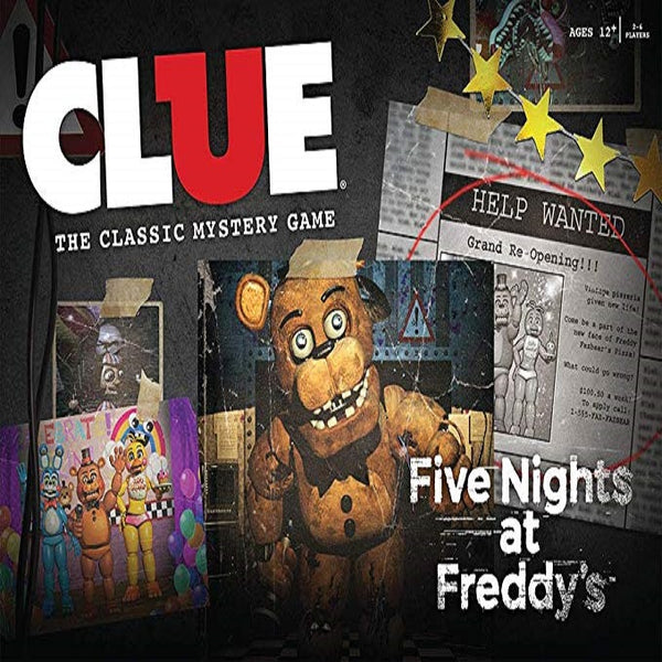 Clue Five Nights at Freddy's