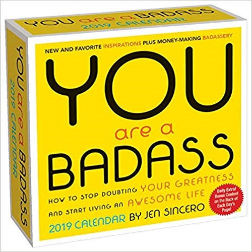 You Are a Badass 2019 Calendar
