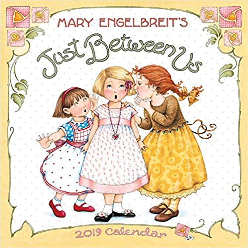 Mary Engelbreit 2019 Mini Wall Calendar: Just Between Us