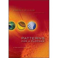 Patterns for a Purpose: A Rhetorical Reader: Patterns for a Purpose | ADLE International