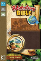 Adventure Bible: New International Version, Chocolate / Toffee, Italian Duo-Tone