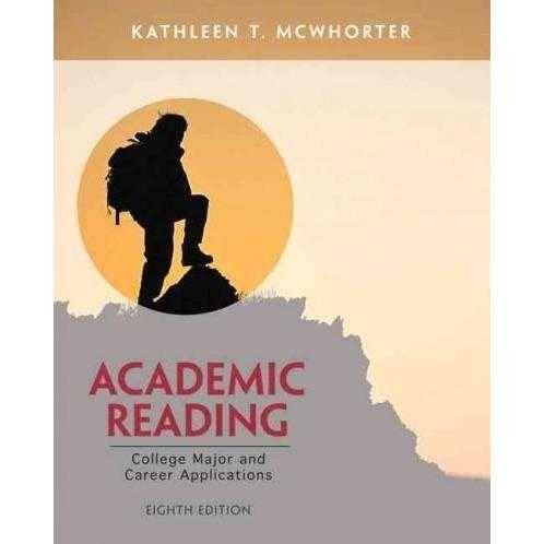 Academic Reading: College Major and Career Applications