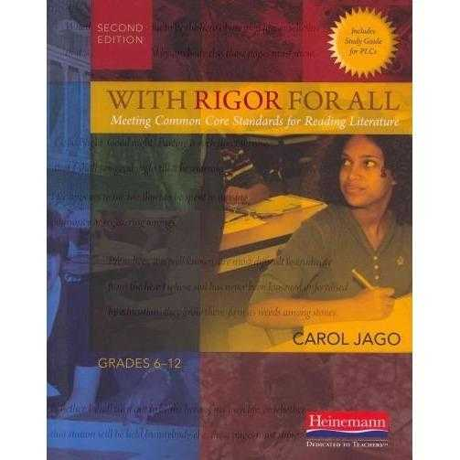 With Rigor for All: Meeting Common Core Standards for Reading Literature | ADLE International