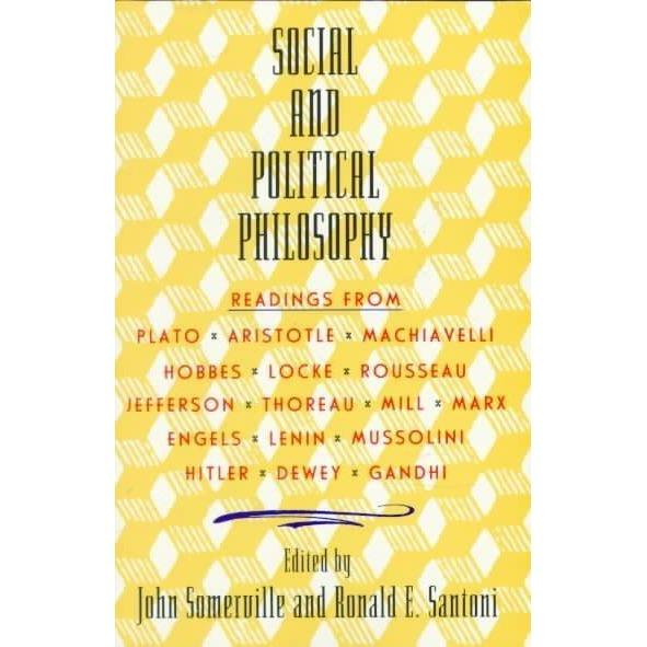 Social and Political Philosophy Readings from Plato | ADLE International
