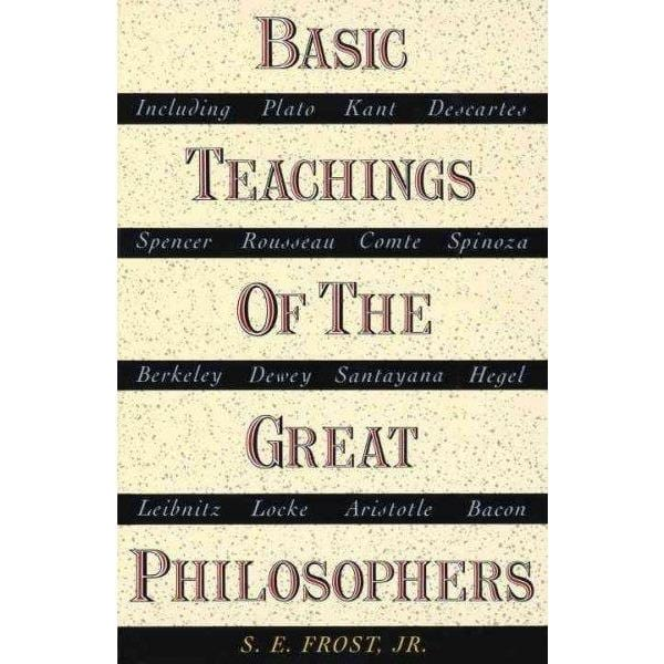 Basic Teachings of the Great Philosophers | ADLE International