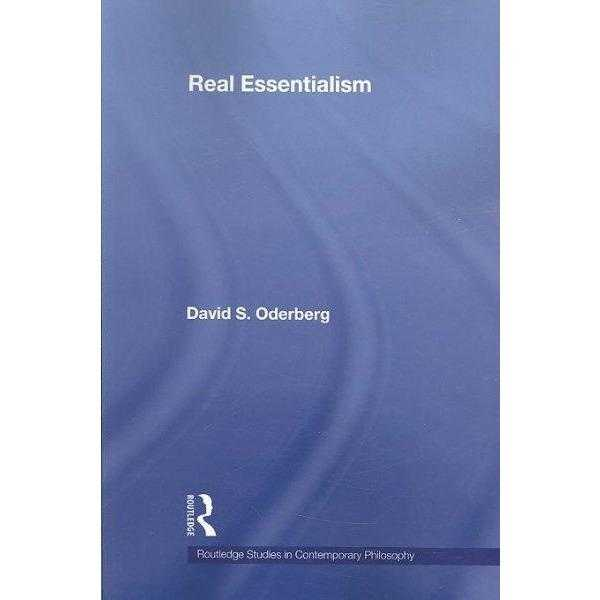 Real Essentialism (Routledge Studies in Contemporary Philosophy): Real Essentialism | ADLE International