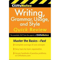 Cliffsnotes Writing: Grammar, Usage, and Style Quick Review | ADLE International