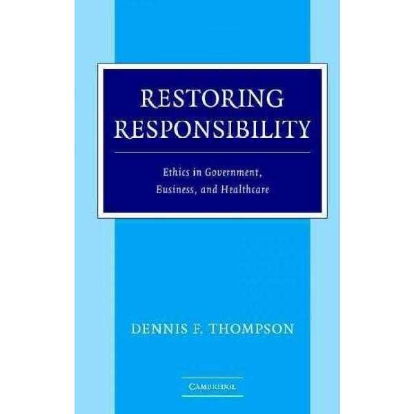 Restoring Responsibility | ADLE International